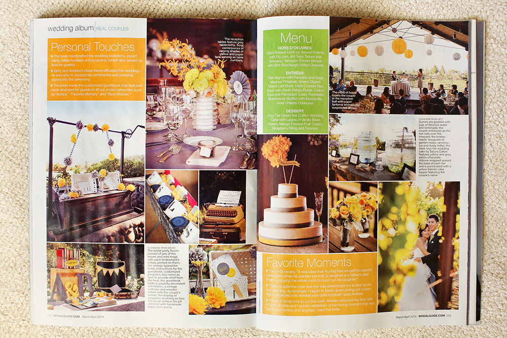 Thomas Fogarty Woodside Wedding Photographer Featured Bridal Guide Magazine