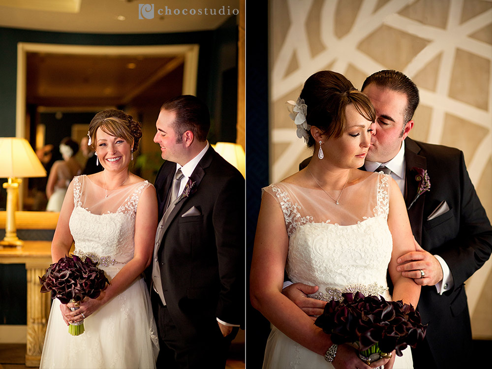 Bridal portraits at Villa Ragusa Campbell Wedding