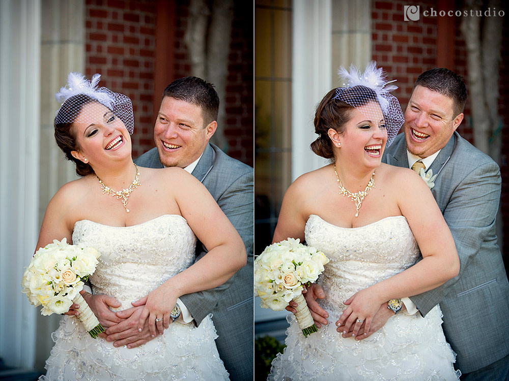 Intimate and emotional wedding portraits at Kohl Mansion