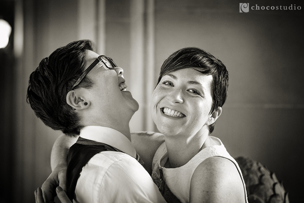 San Francisco City Hall Same-Sex Wedding – B & M