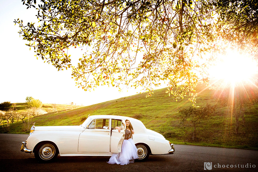 Rolls Royce engagement session