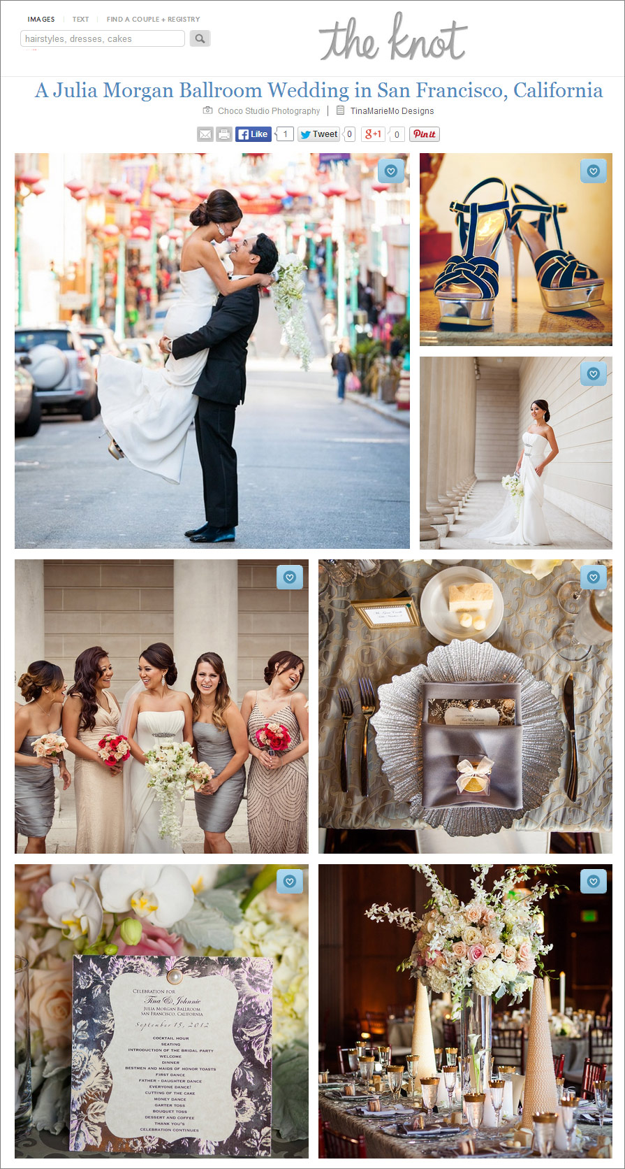 San Francisco Wedding Photographer Feature The Knot Magazine