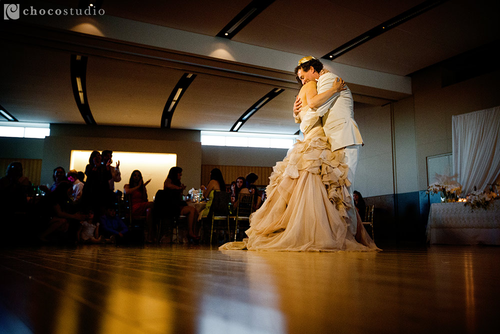 Kol Shofar Sausalito wedding reception