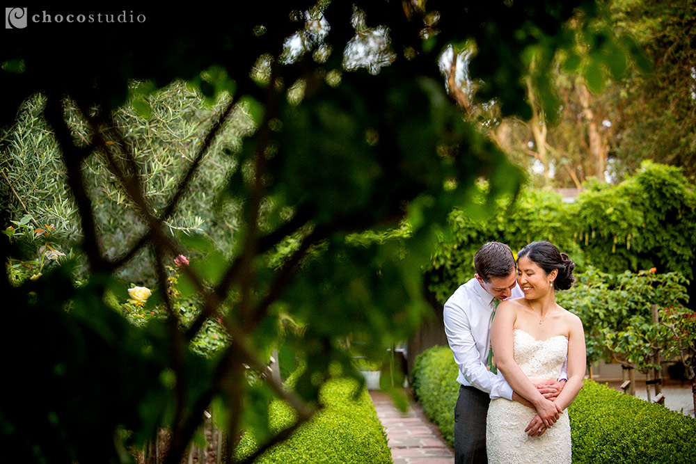 Allied Arts Guild wedding portraits