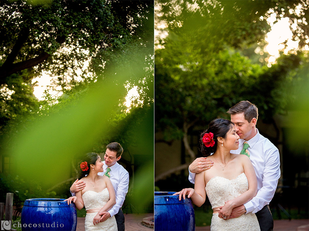 Allied Arts Guild wedding photography