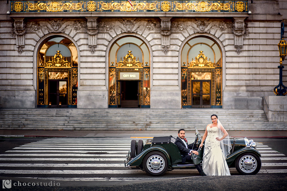 Wedding Anniversary Portraits in San Francisco