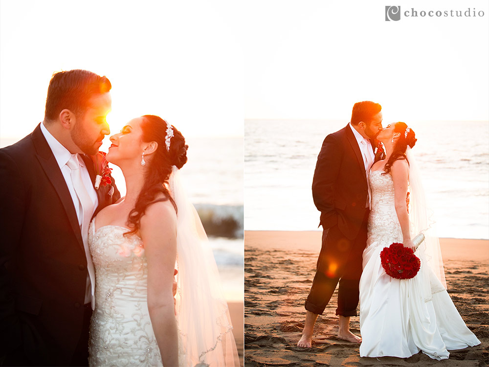 Baker Beach Sunset Anniversary Portrait
