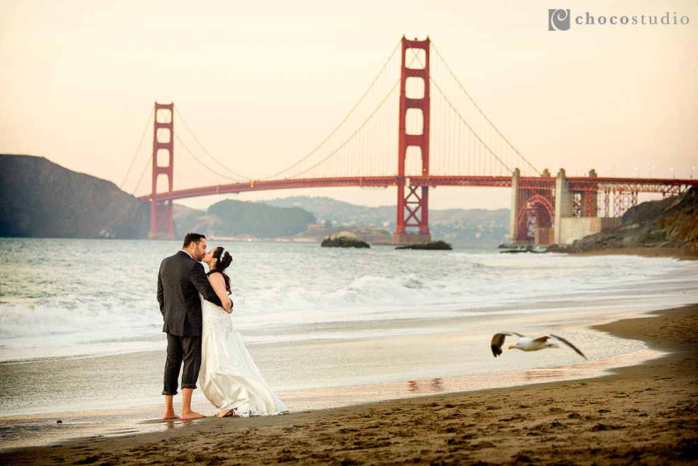 Wedding Anniversary Portraits in San Francisco: Jamie and Ben