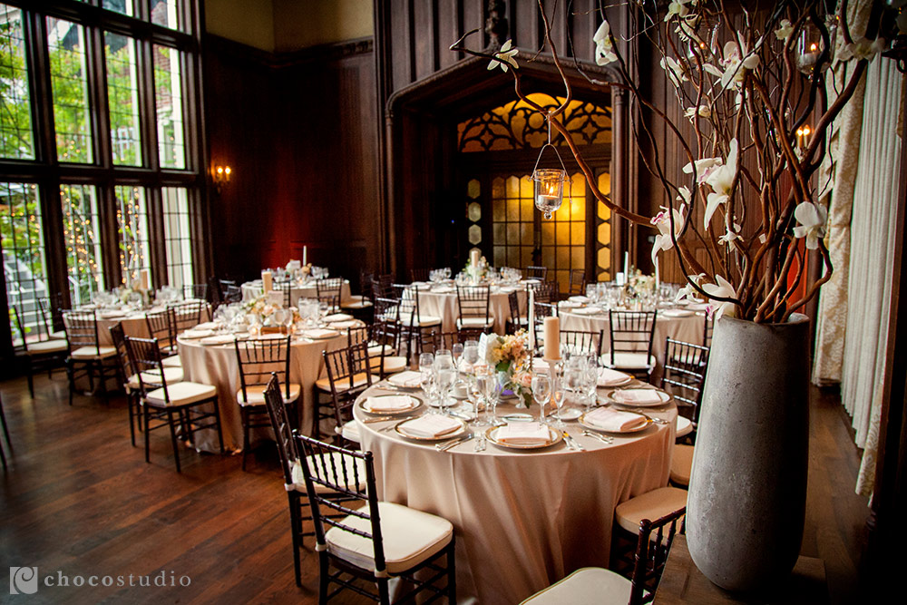 Table Layout Kohl Mansion Dinner Reception