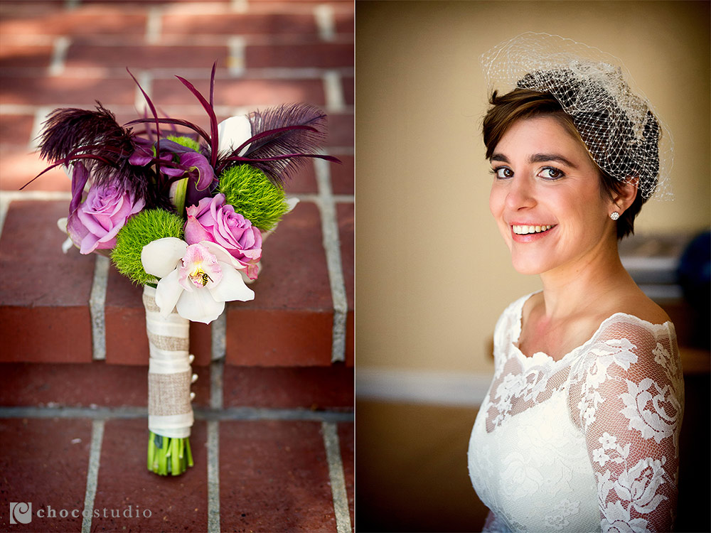 Bridal Bouquet Wedding Portrait