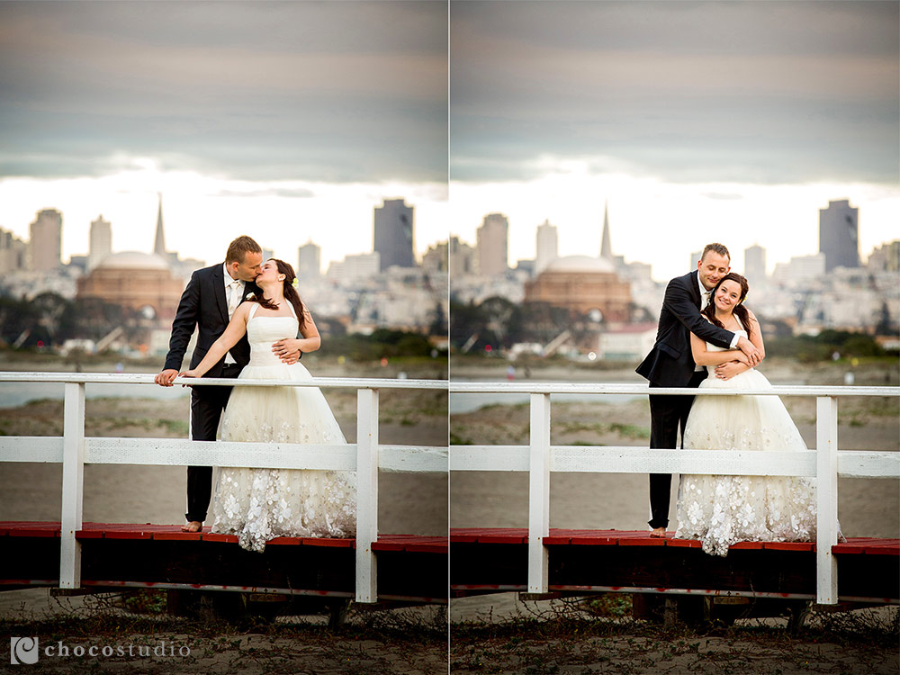 Crissy Field Wedding Portrait