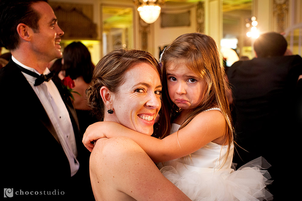 Flower Girl Wedding Reception