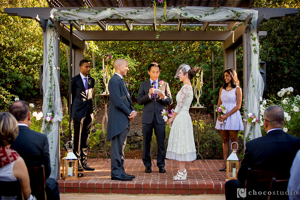 Outdoor Wedding Ceremony Los Altos