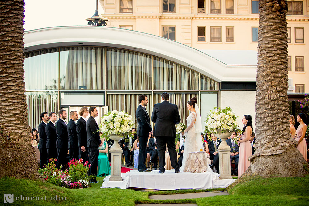 Multicultural Outdoor Wedding Ceremony at The Fairmont