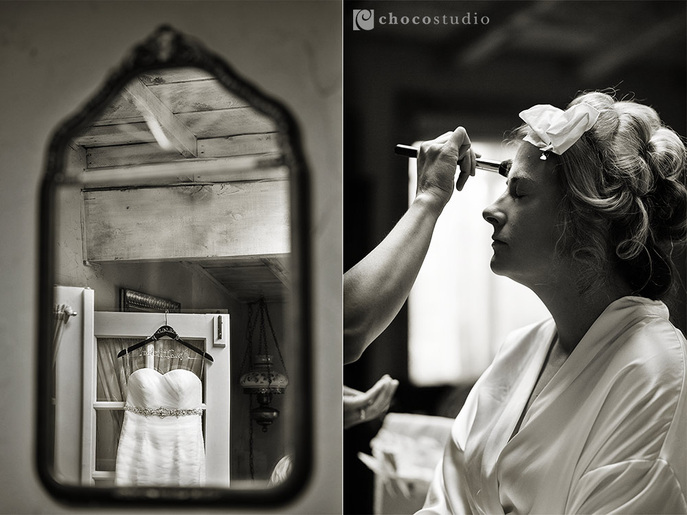 Union Hill Inn Bridal Preparations