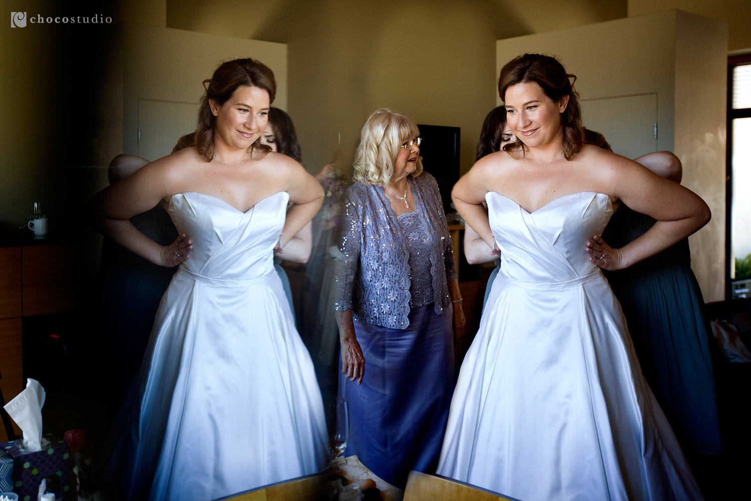Bridal Preparations at Cavallo Point Lodge