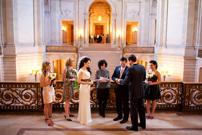 San francisco city hall wedding photographer free quote for Sf courthouse wedding