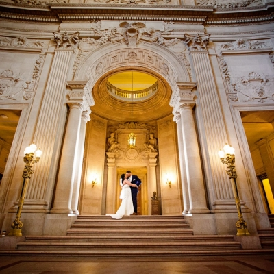 Wedding Ceremony at the Rotunda at City Hall