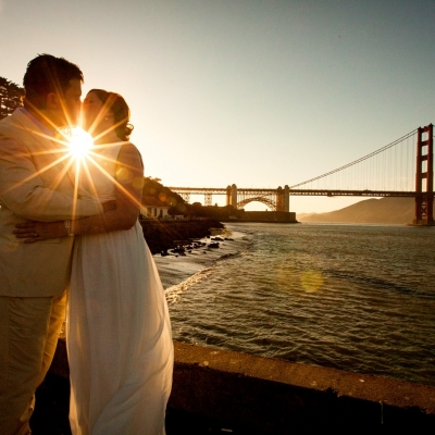 Wedding Photography at San Francisco Golden Gate Bridge