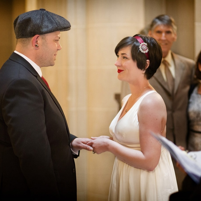 City Hall Wedding Ceremony Appointment in Rotunda Center