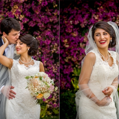 Wedding Bride and Groom Portraits at Kohl Mansion