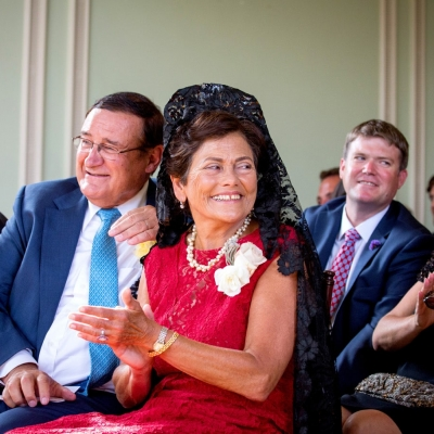 Emotional Parents at Kohl Mansion Wedding