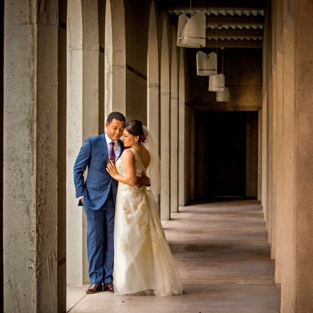 Wedding Portrait at Grace Cathedral