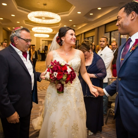 Savoy Ballroom Wedding Ceremony at San Francisco Marriott on Union Square