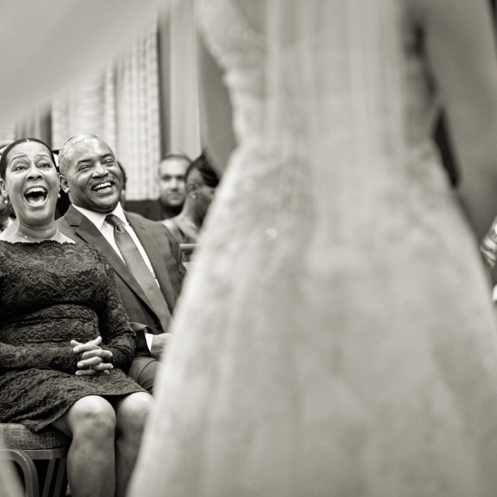 Wedding Moment during Ceremony at SF Marriott
