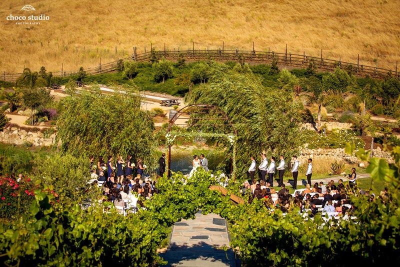 Nella Terra Cellars Wedding in Sunol