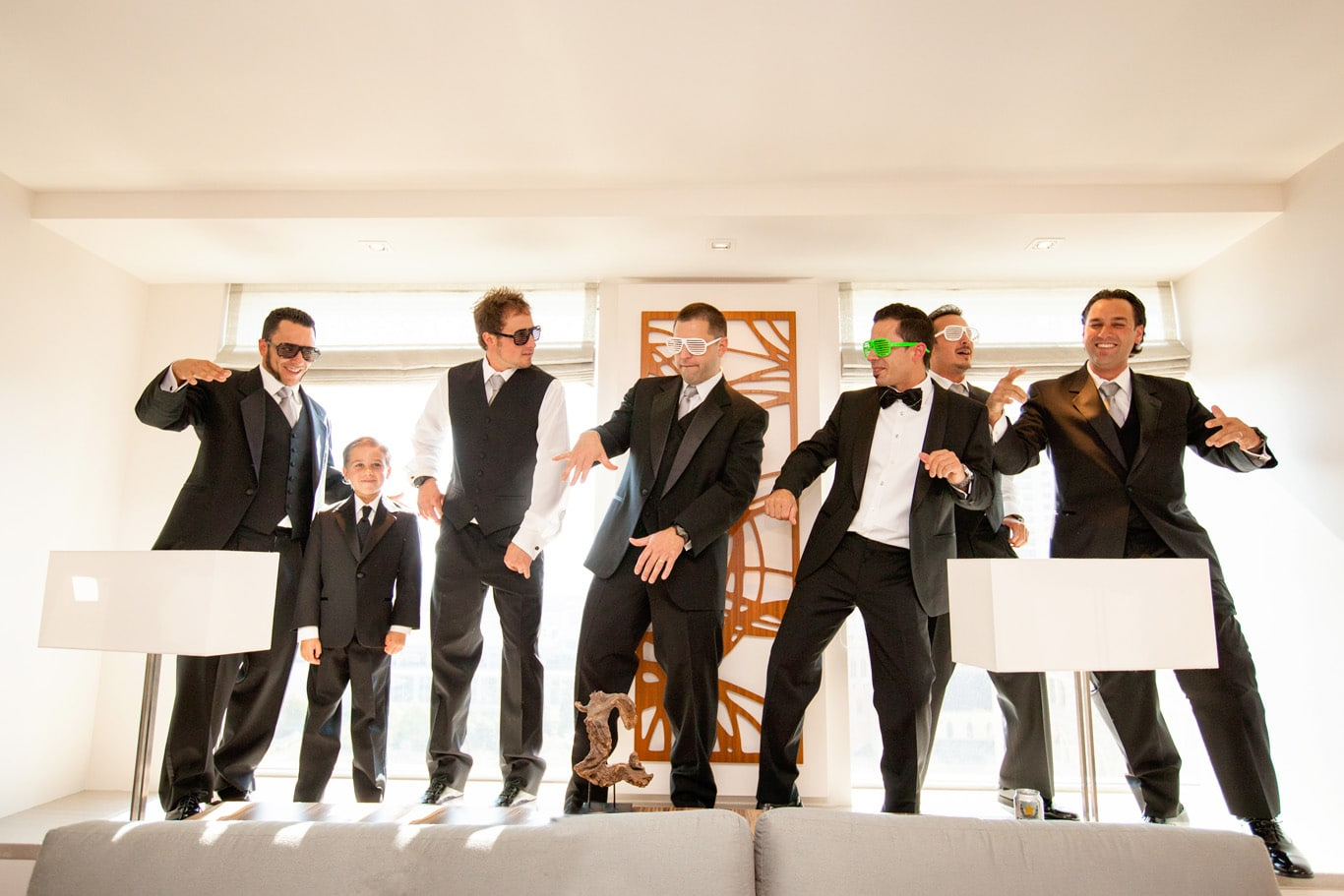 St Regis San Francisco Wedding Groomsmen