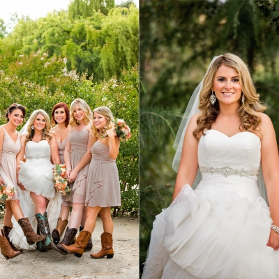 Union Hill Inn Bridal Party Wedding