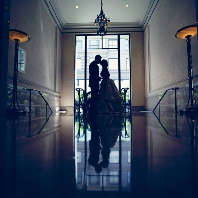 Palace Hotel Wedding Portrait
