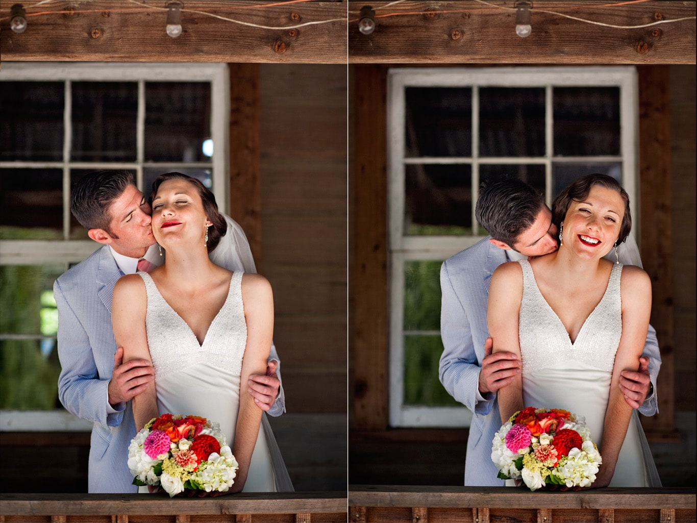 Radonich Ranch Los Gatos Wedding Portrait