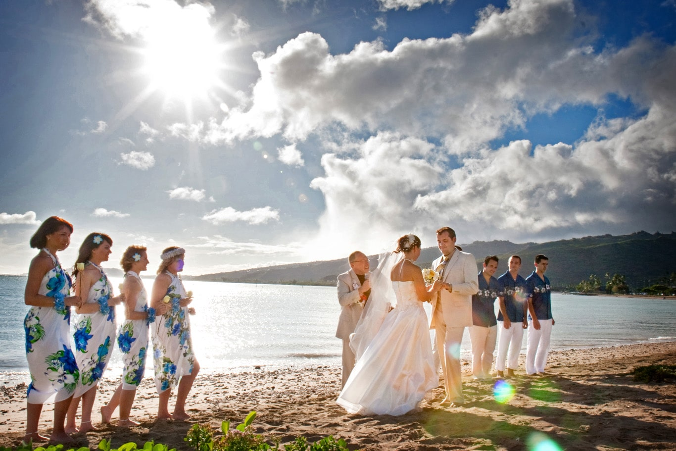 Oahu Destination Wedding Ceremony