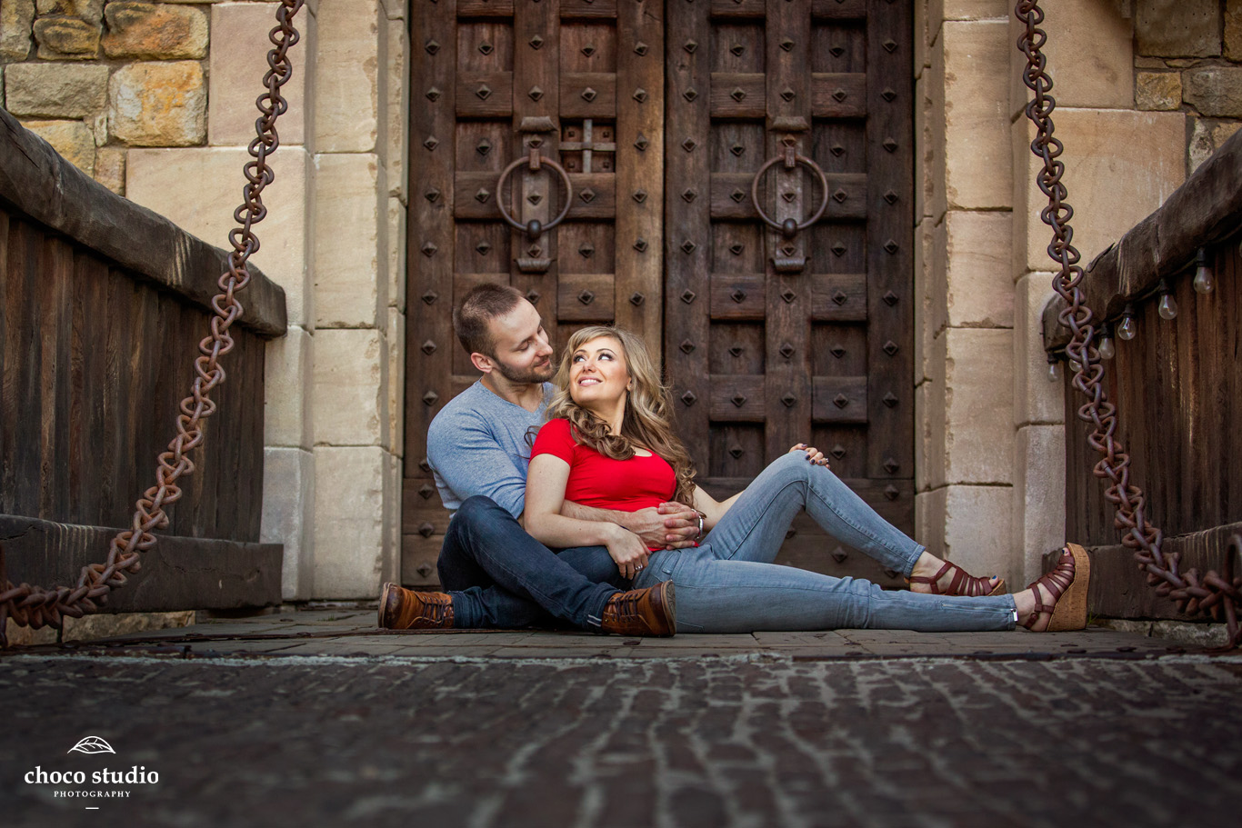 Castello di Amorosa Engagement Shoot