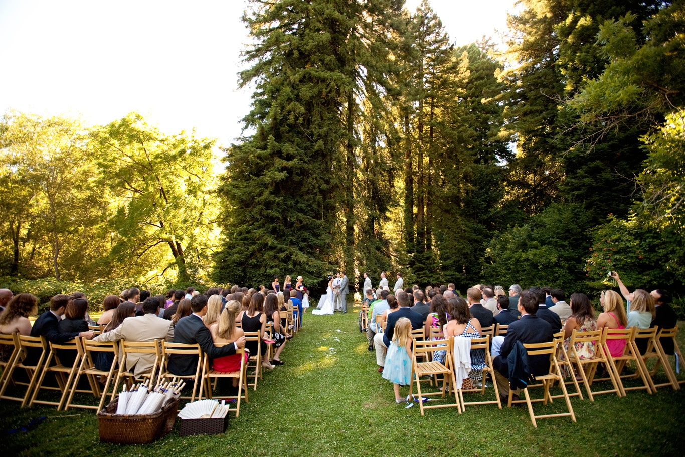 Dawn Ranch Outdoor Wedding Ceremony