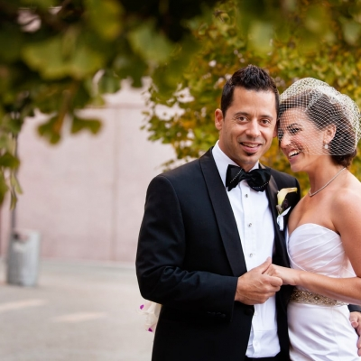 St Regis San Francisco Wedding Portrait
