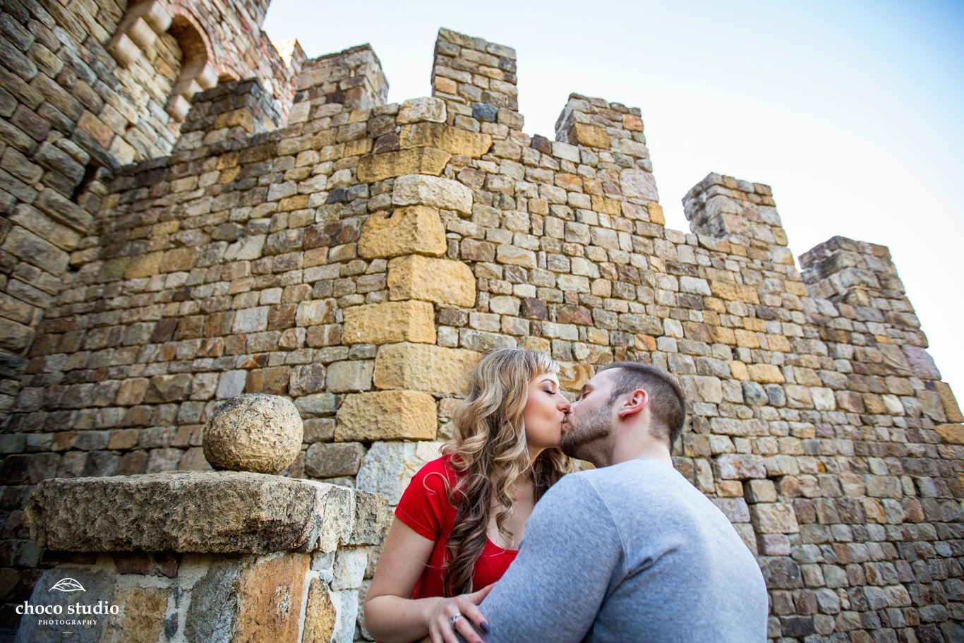 Castello di Amorosa Calistoga Engagement