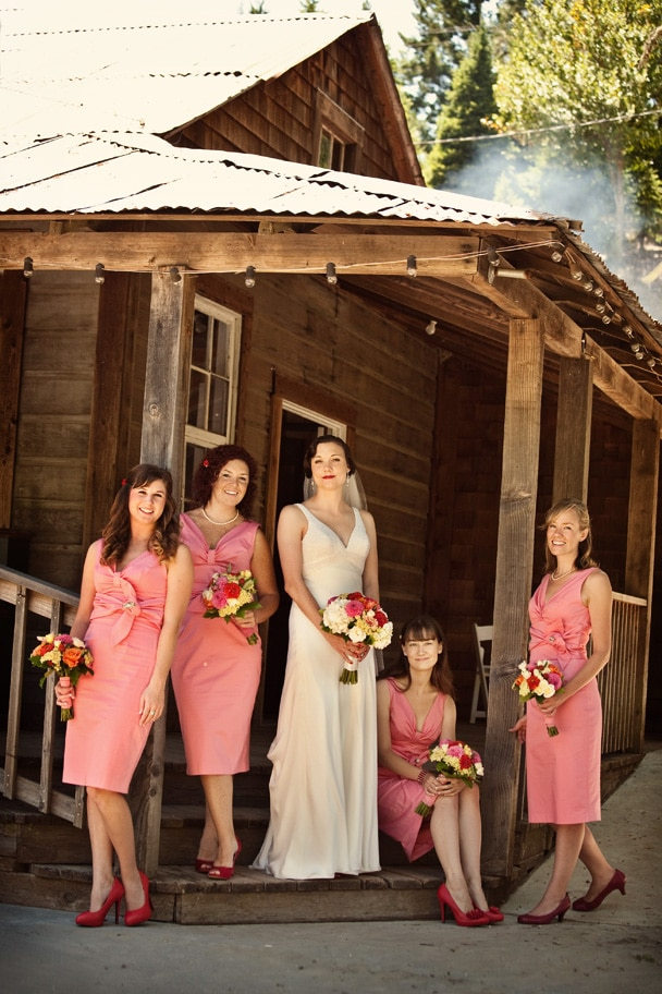 Radonich Ranch Wedding Bridesmaids