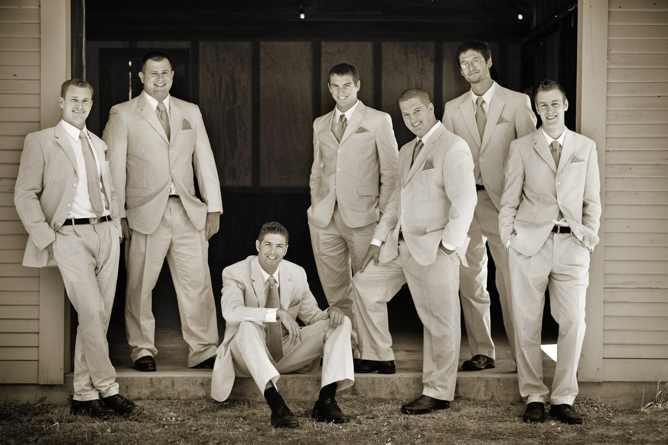 Radonich Ranch Wedding Groomsmen