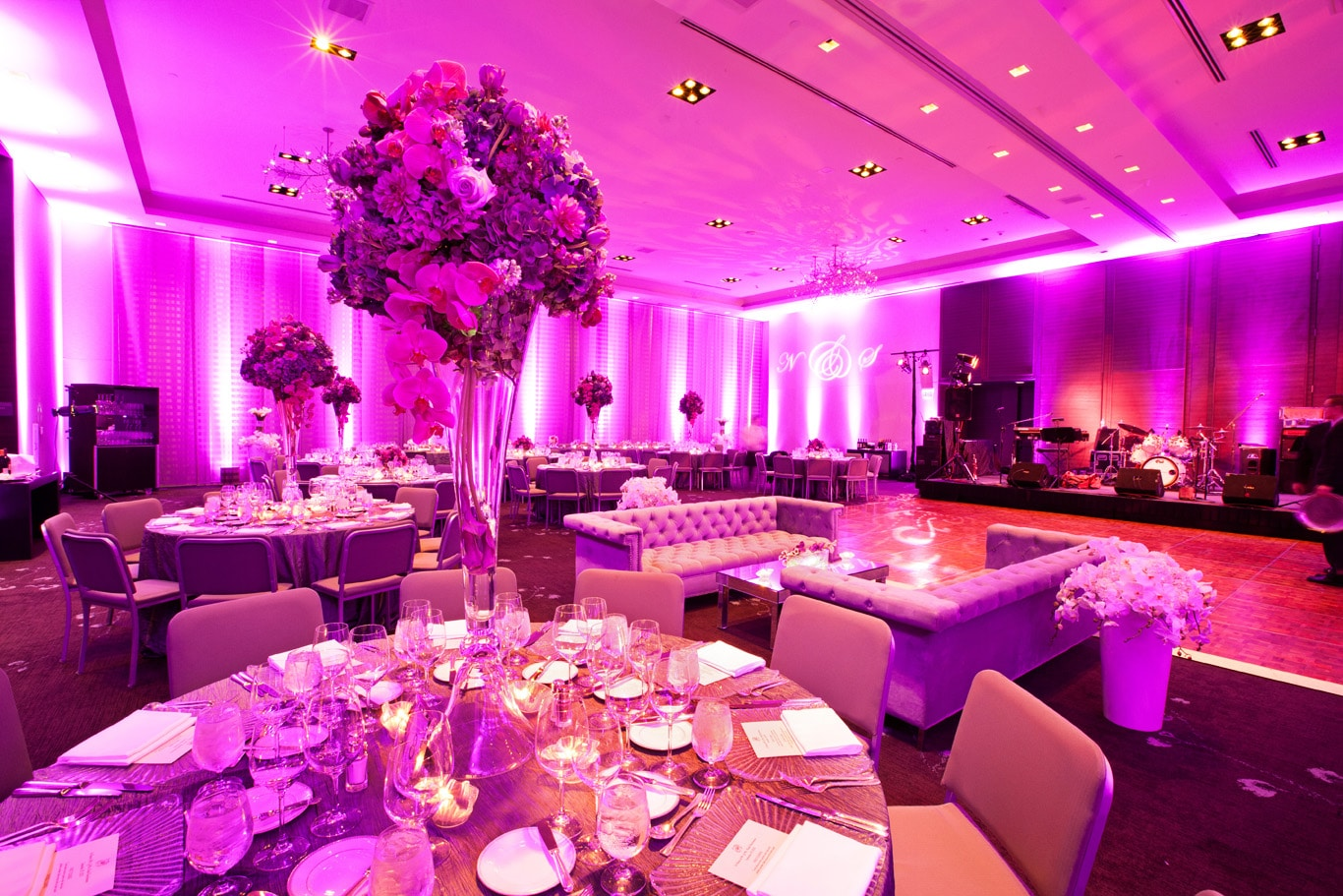 St Regis San Francisco Wedding Reception Details