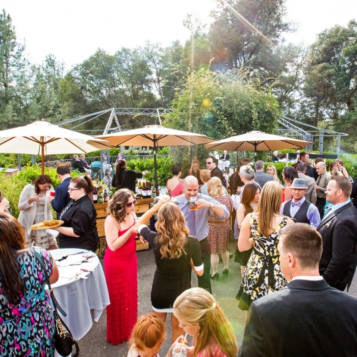 Union Hill Inn Outdoor Cocktail Reception