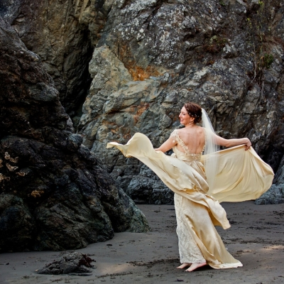 Muir Beach Wedding Photo