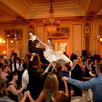 Palace Hotel Jewish Wedding Hora Dancing