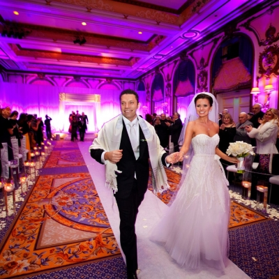 Faimont SF Jewish Wedding Ceremony Recessional