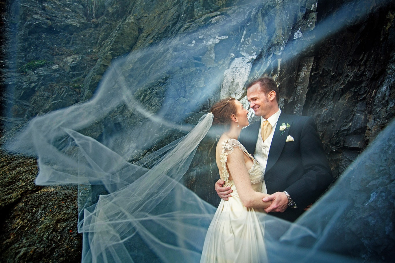 Green Gulch Farm Zen Center Wedding Bride Groom