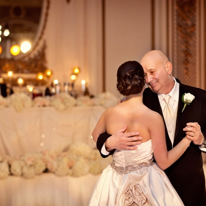 Palace Hotel Wedding Father Daughter Dance