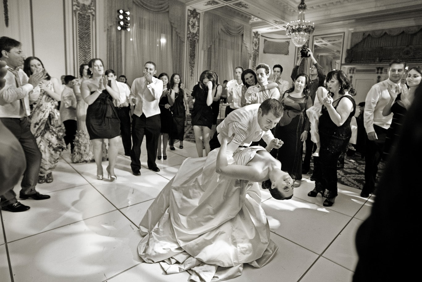 Palace Hotel Jewish Wedding First Dance