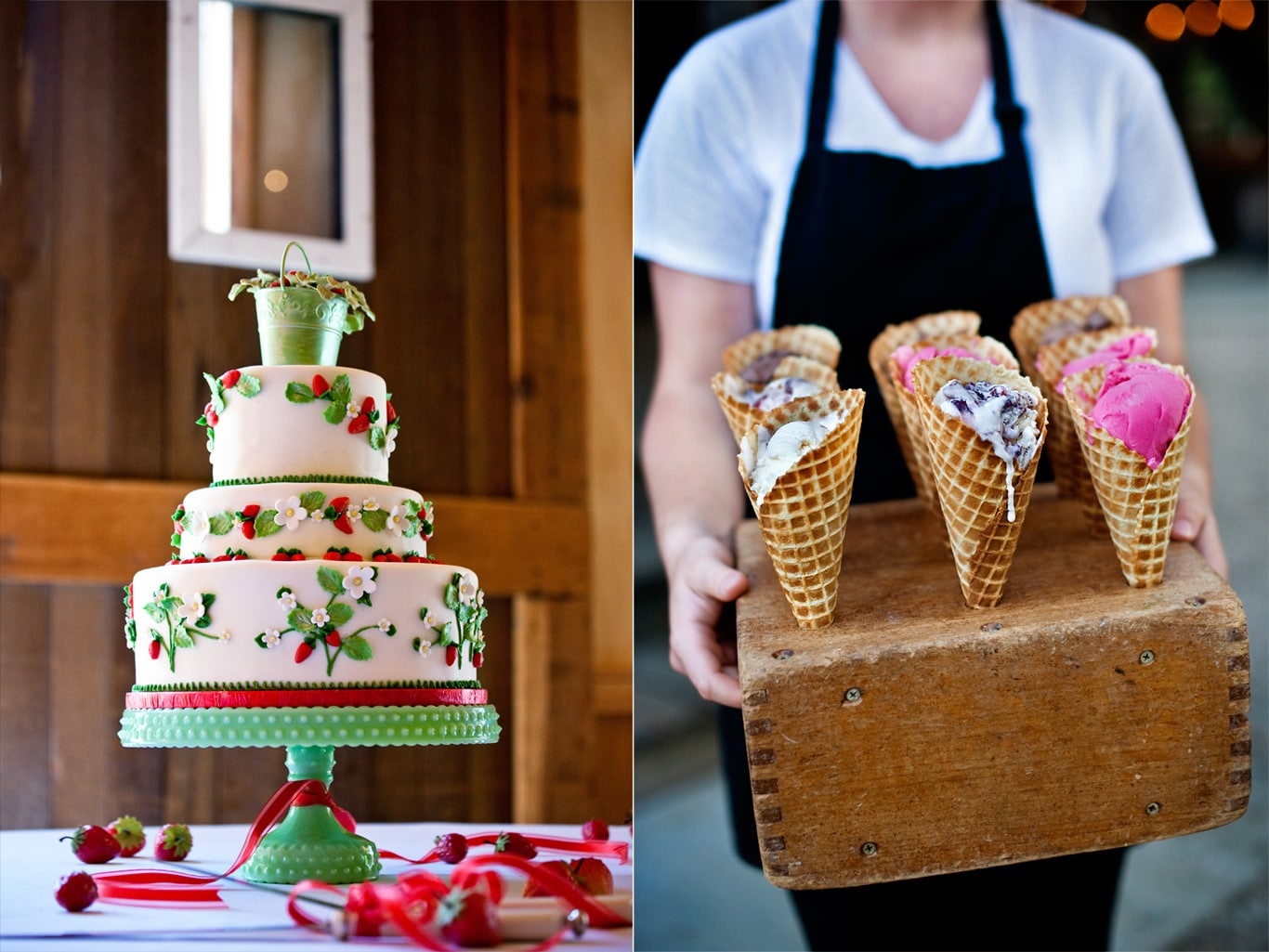 Radonich Ranch Wedding Cake Ice Cream